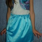 Шикарный костюм для девочки 3-5 лет  болеро и юбка