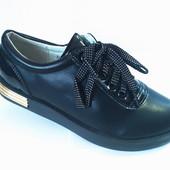 Детские / подростковые туфли на платформе для девочки бренда Солнце (Kimbo-o), р. 31-37, код 012