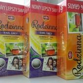4 пачки Вкусного Польского чай классического ,104 пакетика и 80 с бергамотом ,лот 2+2