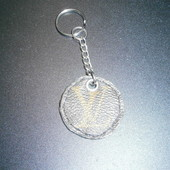 Louis Vuitton key chain брелок подвеска hand made