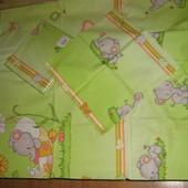 Сменный постельный комплект Greta Lux Слоненок, три цвета