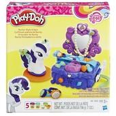 Плей до май литл пони Туалетный столик Рарити Play-doh B3400 Плей дох