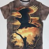 Стильная мужская футболка с 3D рисунком