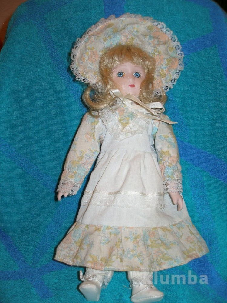 481 кукла фарфоровая 31см колекционная, винтаж. фото №1
