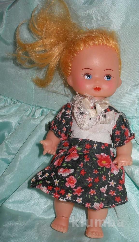 484 кукла времен 20см. ссср - 80е годы. фото №1