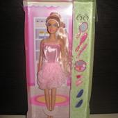 Кукла Defa с аксессуарами, 32см(на подобии Барби), новая,в коробке