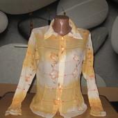 Рубашка с паетками Colins,р-р L