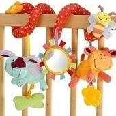 Подвесные игрушки - погремушки на кроватку,автокресло, коляску