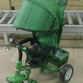 Детский трехколесный велосипед Tilly zoo-trike bt-ct0005 Green