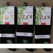 Z&N, мужские антибактериальные, бамбуковые носки, без шва.