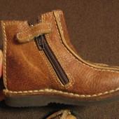 Ботиночки Chicco стелька 13 см кожа