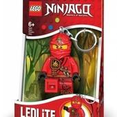 Брелок-фонарик Лего Ниндзяго Кай светодиодный lgl-ke77k