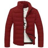 Дутая куртка без капюшона 2 цвета