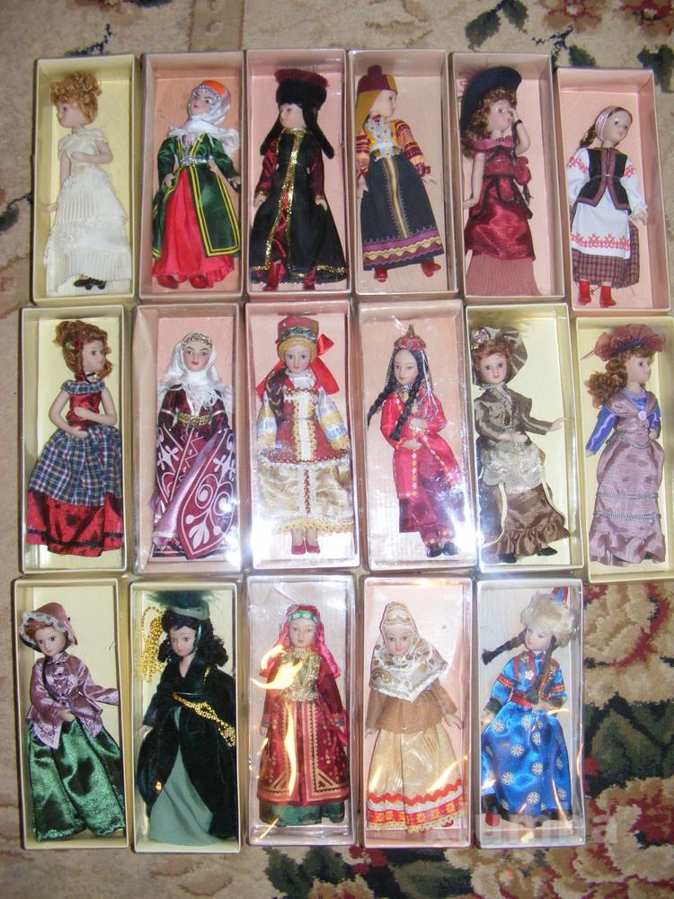 Куклы дамы эпохи и в народных костюмах от deagostini фото №1