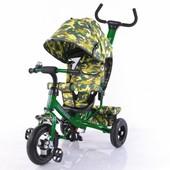 Велосипед трехколесный T-351-8 Tilly Trike Темно-зеленый