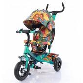 Велосипед трехколесный T-351-7 Tilly Trike Бирюзовый