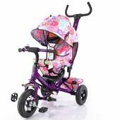 Велосипед трехколесный T-351-5 Tilly Trike Фиолетовый
