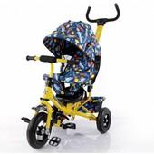 Велосипед трехколесный T-351-10 Tilly Trike Желтый
