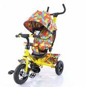 Велосипед трехколесный T-351-1 Tilly Trike Желтый