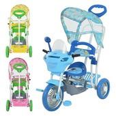 Велосипед трехколесный B 3-9 / 6012 Bambi