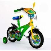 Велосипед 12 дюймов детский мульт 141203