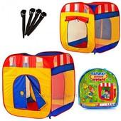 Детская игровая палатка Куб 0505 Реальные фото!