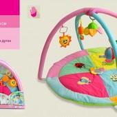 Коврик для малыша с погремушками, артикул 898-22B/23B