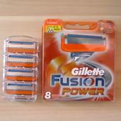Лезвия кассеты для бритья Gillette Fusion Power. Оригинал!