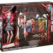 Монстр Монстер хай  Freak du chic circus scaregrounds and Rochelle Goyle doll playset monster high