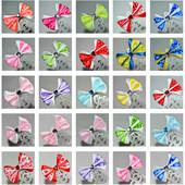 Бантики Дюймовочка, комплект из 2 шт, разные цвета