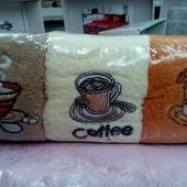полотенца кофе 6 шт