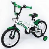 Велосипед Flash 16 дюймов bt-cb-0043 синий,красный,зелёный