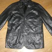 Мужская кожаная куртка-пиджак Patino 48-размер