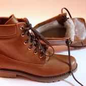 Стильные кожаные ботинки в наличии. Хит продаж!