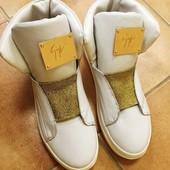 Ботинки натуральная кожа 39 40 р