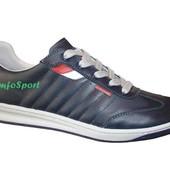 румынские кроссовки Bontimes 1110 синие