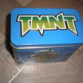 металлическая коробка для карт черепашки ниндзя