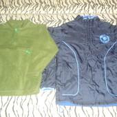 Ветровка (куртка) на 6-7 лет + флиска в подарок