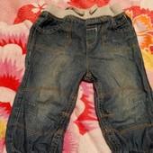 модные джинсовые бриджи шорты 1-2 года