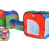 Палатка детская 3 в 1 + Туннель