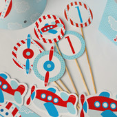 """""""Самолётики"""". Декор Candy Bar"""