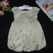 Платье F+F на 2-3г(92-98см)Мега выбор обуви и одежды!