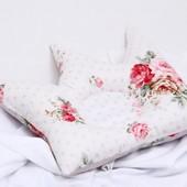 Подушка ортопедическая для новорожденных корона
