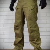 Тактические брюки из плотного 100% хлопка, Кайот