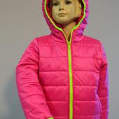 Яркие демисезонные курточки