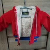 Демисезонная вельветовая курточка от OshKosh на 1-2 года