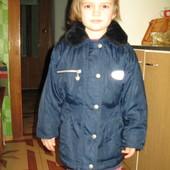 605. Куртка Adams р. 110.зимняя.