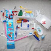 Аптечка в чемоданчике 28 предметов. Доктор