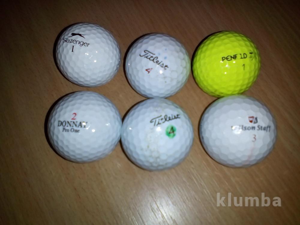 Шарики мячики для игры в гольф фото №1