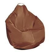 Шоколадное кресло-мешок груша 100х75 см из ткани Оксфорд